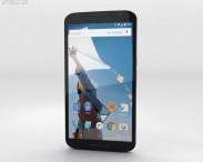 3D model of Motorola Nexus 6 Cloud White
