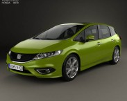 3D model of Honda Jade 2014