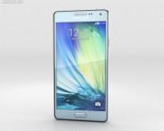 3D model of Samsung Galaxy A3 Light Blue