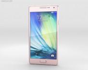 3D model of Samsung Galaxy A3 Soft Pink