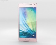 3D model of Samsung Galaxy A5 Soft Pink