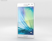 3D model of Samsung Galaxy A5 Pearl White