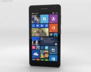 3D model of Microsoft Lumia 535 Black