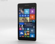 3D model of Microsoft Lumia 535 White