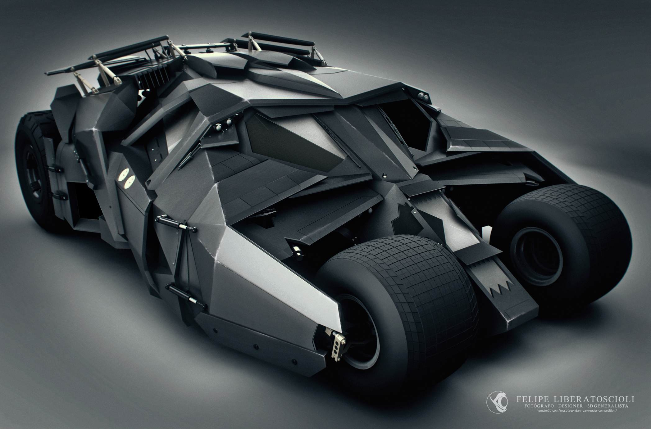 The Tumbler Batmobile - Felipe Liberatoscioli - 3D vehicle competition ...
