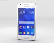 3D model of Samsung Galaxy V White