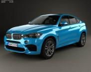 3D model of BMW X6 M 2014