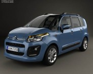 3D model of Citroen C3 Picasso 2013