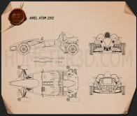 Ariel Atom 2012 Blueprint