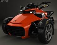 3D model of BRP Can-Am Spyder F3 2015
