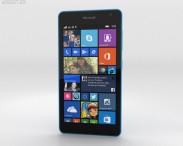 3D model of Microsoft Lumia 535 Blue