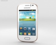 3D model of Samsung Galaxy Fame White