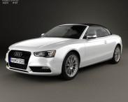 3D model of Audi A5 cabriolet 2012