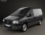 3D model of Citroen Jumpy Van 2004