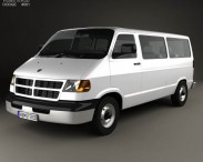 3D model of Dodge Ram Van 1994