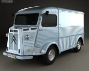 3D model of Citroen H Van 1964