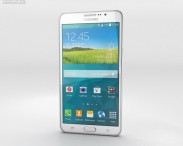 3D model of Samsung Galaxy Mega 2 White
