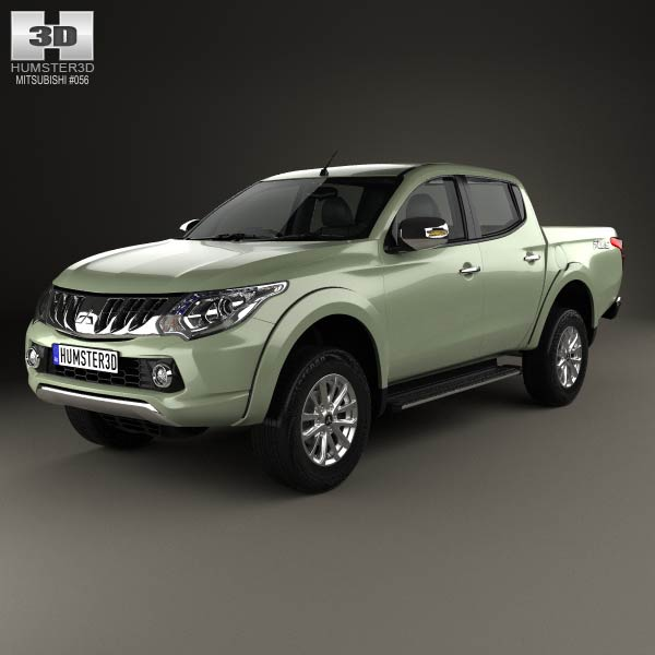 Mitsubishi L200 Triton 2015 | Car Interior Design