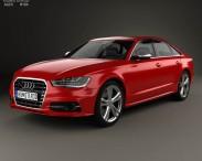 3D model of Audi S6 (C7) saloon 2012