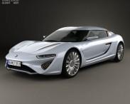 3D model of Quant e-Sportlimousine 2014