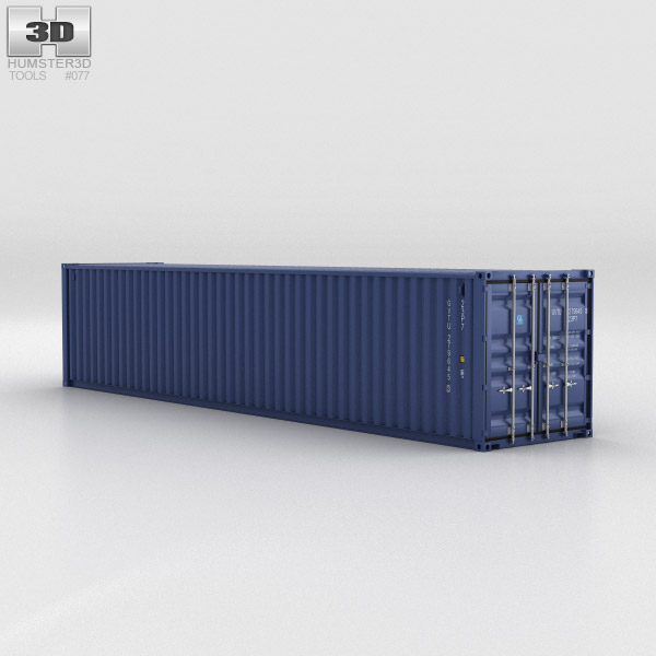 3D model of Shipping Container 40ft