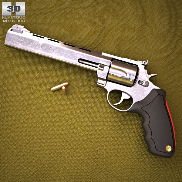 3D model of Taurus Raging Bull