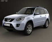 3D model of Chery Tiggo (T11) with HQ interior 2010