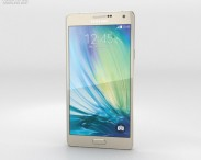 3D model of Samsung Galaxy A7 Champagne Gold