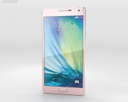 3D model of Samsung Galaxy A7 Soft Pink