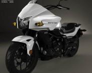 3D model of Honda CTX700 2012