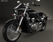 3D model of Suzuki Intruder M1500 2013