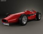 3D model of Maserati 250F 1954