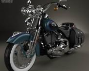 3D model of Harley-Davidson FLSTS Heritage Springer 2002