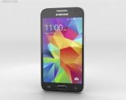 3D model of Samsung Galaxy Core Prime Black