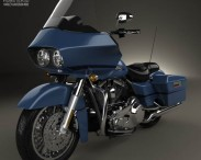 3D model of Harley-Davidson FLTR Road Glide 2009