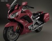 3D model of Yamaha FJR1300 ES 2013