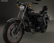 3D model of Harley-Davidson FXB Sturgis 1980
