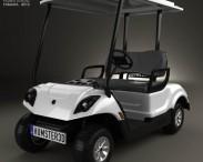 3D model of Yamaha Golf Car Fleet 2012