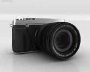 3D model of Fujifilm X-E1 Silver