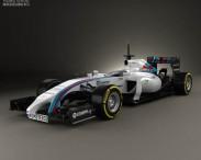 3D model of Williams FW36 2014