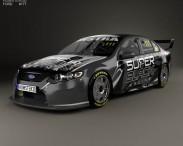 3D model of Ford Falcon (FG) V8 Supercars 2014