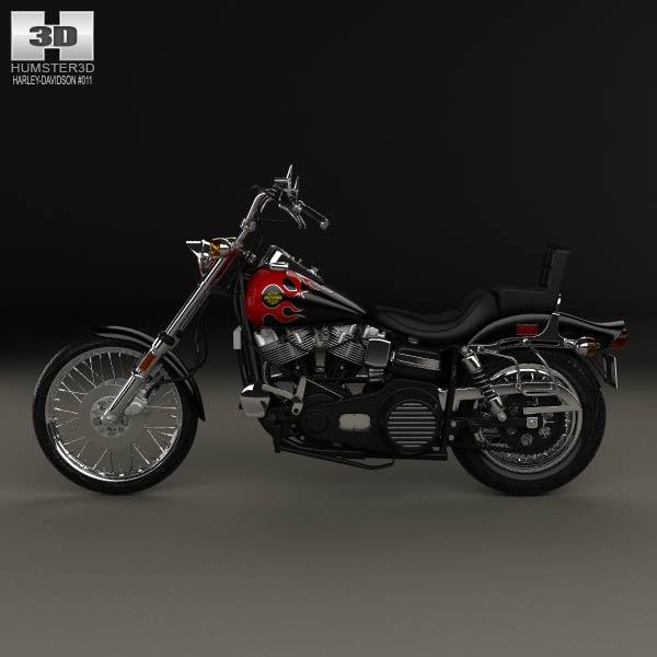 Harley Davidson Fxwg Parts