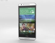 3D model of HTC Desire 620G Marble White