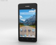 3D model of Huawei Ascend Y530 Black
