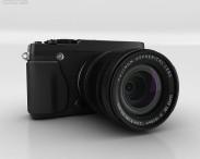 3D model of Fujifilm X-E1 Black
