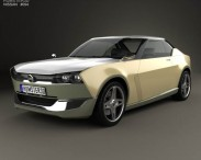 3D model of Nissan IDx Freeflow 2014