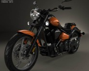 3D model of Yamaha Raider SCL 2013
