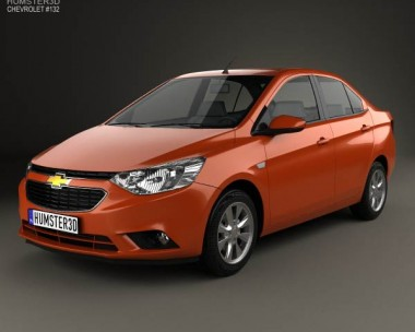 3D model of Chevrolet Sail 3 2015