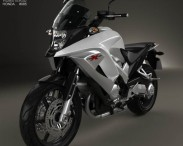 3D model of Honda VFR800X Crossrunner 2011