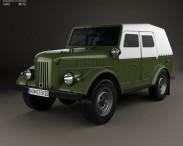 3D model of GAZ 69A 1953